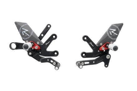 LighTech Suzuki GSX-S 1000 2015> 'R' Version Adjustable Rearsets